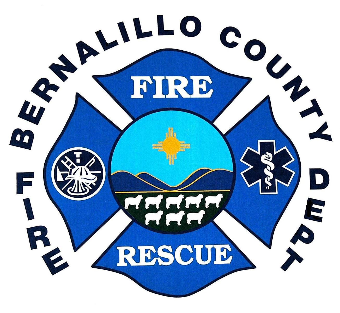 Bernalillo County Fire Department logo